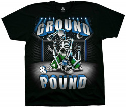 ФУТБОЛКА GROUND POUND, код LIQUID BLUE 31205