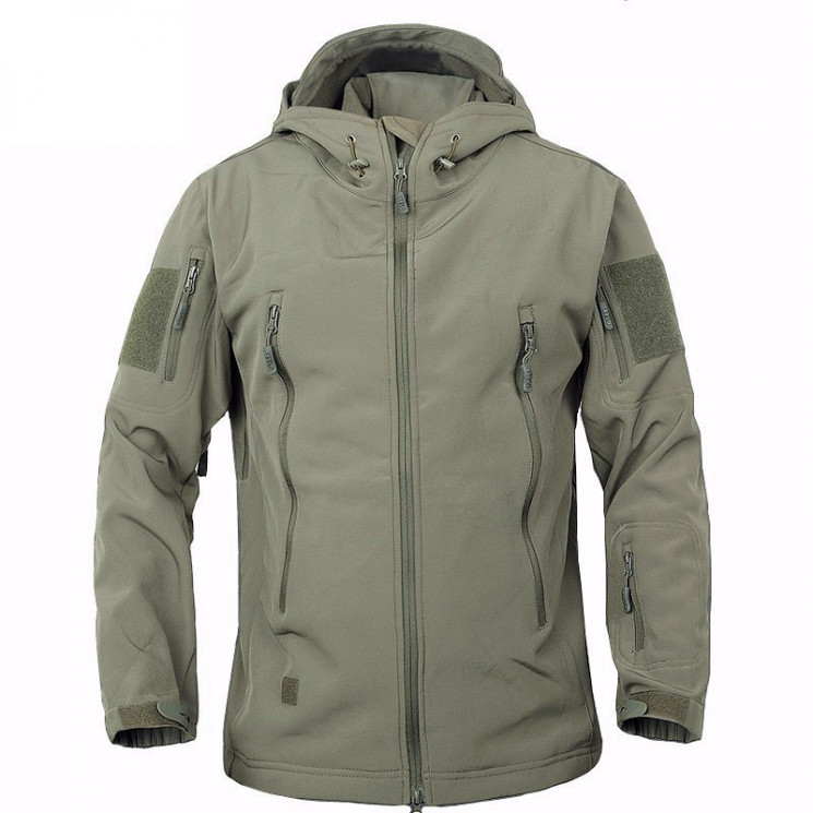 Куртка мембранная Sharkskin V Soft Shell Assault OLIVE, AS-UF0008OD