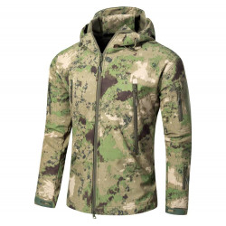 Куртка мембранная Sharkskin V Soft Shell Assault ATACS-FG, AS-UF0008AF