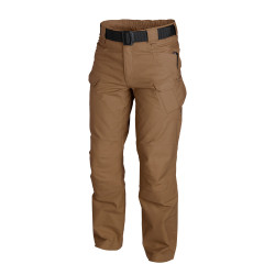 БРЮКИ URBAN TACTICAL ® - PolyCotton Ripstop - Mud Brown, код HELIKON-TEX SP-UTL-PR-60