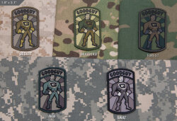 ШЕВРОН ПАТЧ на липучке GoodGuy PVC код MSM patch-00152-swat