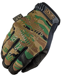 ПЕРЧАТКИ Original Woodland Camo, код MECHANIX MG-71