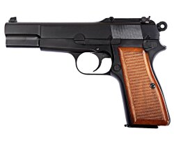 ПИСТОЛЕТ ПНЕВМ. WE BROWNING HI POWER, металл, WE-B001 / GP424