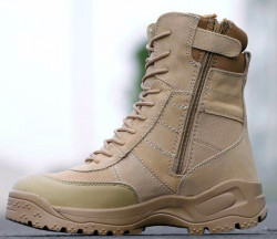 БОТИНКИ 8'' Tactical Side Zip TAN, код AS-BT0011T