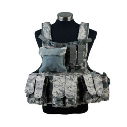 ЖИЛЕТ ТАКТИЧЕСКИЙ Military Force Recon Tactical  (600D) AS-VT0010ACU