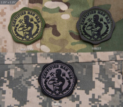 ШЕВРОН ПАТЧ на липучке Man Bag код MSM patch-00139-multicam