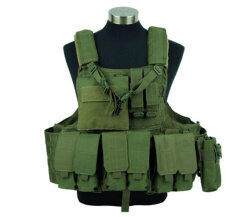 ЖИЛЕТ ТАКТИЧЕСКИЙ Military Force Recon Tactical  (600D) AS-VT0010OD
