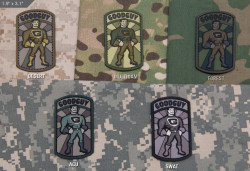 ШЕВРОН ПАТЧ на липучке GoodGuy PVC код MSM patch-00152-multicam