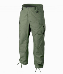 БРЮКИ SFU NEXT® - PolyCotton Ripstop - Olive Green, код HELIKON-TEX SP-SFN-PR-02