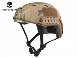 ШЛЕМ ПЛАСТИКОВЫЙ EMERSON FAST Helmet BJ TYPE Light version c рельсами FMA AS-HM0119CP