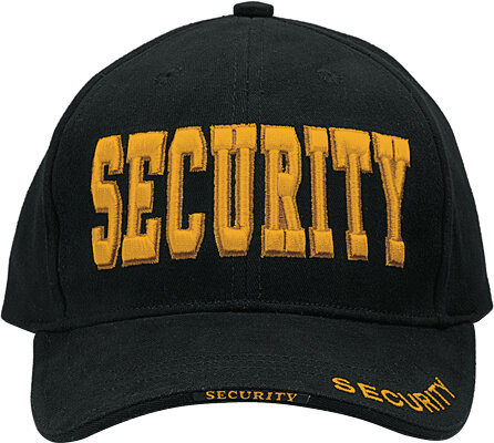 КЕПКА DELUXE LOW PROFILE SECURITY GOLD код ROTHCO 9490