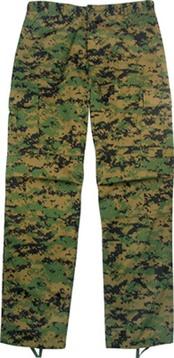 БРЮКИ ULTRA FORCE® DIGITAL WOODLAND CAMO BDU, код ROTHCO 8676