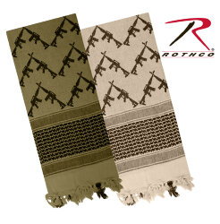 АРАФАТКА CROSSED RIFLES SHEMAGH TACTICAL COYOTE, код ROTHCO 8737