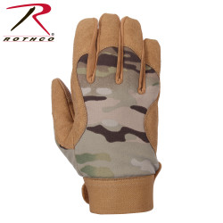 ПЕРЧАТКИ MILITARY MECHANICS - MULTICAM, код ROTHCO 4434