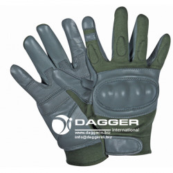 ПЕРЧАТКИ Hard Knuckle Assault Green & Gray, код DAGGER DI-1206