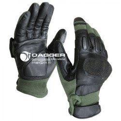 ПЕРЧАТКИ Hard Knuckle Assault OD Black, код DAGGER DI-1208