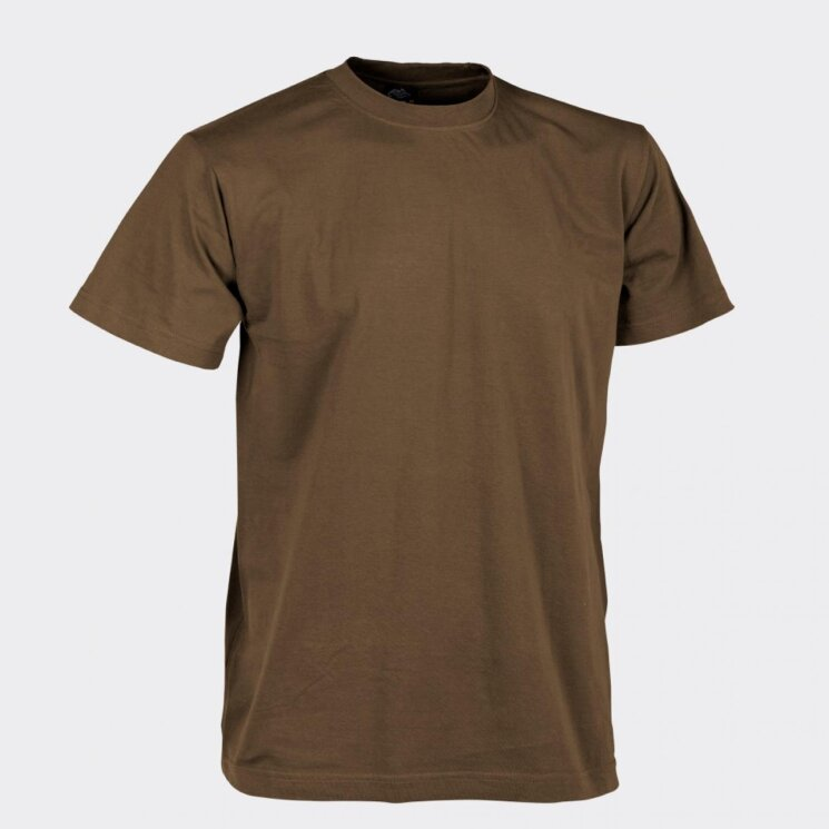 ФУТБОЛКА ХЛОПОК - Mud Brown, код HELIKON-TEX TS-TSH-CO-60