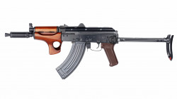 АВТОМАТ ПНЕВМ. E&L RKMSU AEG Steel and real wood - Platinum EL-A113-A (Gen2)