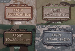 ШЕВРОН ПАТЧ на липучке Front Toward Enemy код MSM patch-00002-acu