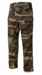 БРЮКИ URBAN TACTICAL ® - PolyCotton Ripstop - Woodland, код HELIKON-TEX SP-UTL-PR-03