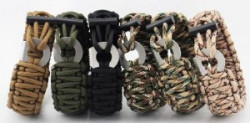 БРАСЛЕТ PARACORD Outdoors Survival AS-SL0015B
