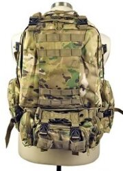 РЮКЗАК 50L Molle Assault Tactical Outdoor Military 48х30х20cm AS-BS0007CP
