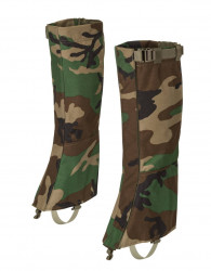 ГАМАШИ Helikon Snowfall Long Gaiters, Woodland, код HELIKON-TEX BU-SLG-CD-03