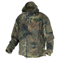 КУРТКА ФЛИС PATRIOT - Flecktarn, код HELIKON-TEX BL-PAT-HF-23