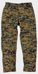 БРЮКИ USMC - Nyco Twill - Digital Woodland, код HELIKON-TEX SP-USM-NT-07