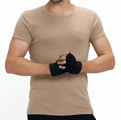 ФУТБОЛКА KHAKI 100% Cotton 175g/sm, AS-TS0001K