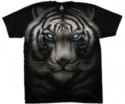 ФУТБОЛКА MAJESTIC WHITE TIGER, код LIQUID BLUE 31132