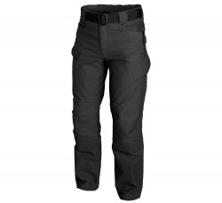 БРЮКИ URBAN TACTICAL ® - PolyCotton Ripstop - Black, код HELIKON-TEX SP-UTL-PR-01
