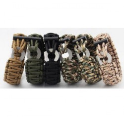 БРАСЛЕТ PARACORD Outdoors Survival AS-SL0015W