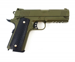 ПИСТОЛЕТ ПНЕВМ. Colt 1911 PD Rail  (Galaxy) G.25G SPRING