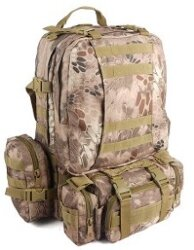 РЮКЗАК 50L Molle Assault Tactical Outdoor Military 48х30х20cm AS-BS0007BSE