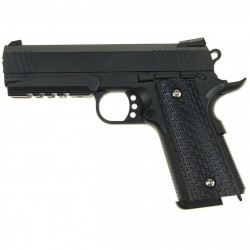ПИСТОЛЕТ ПНЕВМ. Colt 1911 PD Rail  (Galaxy) G.25 SPRING