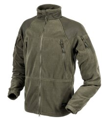 КУРТКА STRATUS® - Heavy Fleece - Taiga Green, код HELIKON-TEX BL-STC-HF-09