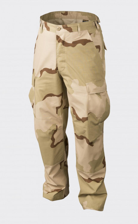 БРЮКИ BDU - Cotton Ripstop - US Desert, код HELIKON-TEX SP-BDU-CR-05