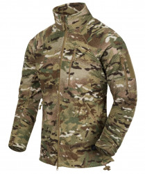 КУРТКА ALPHA TACTICAL - Grid Fleece - Camogrom®, код HELIKON-TEX BL-ALT-FG-14