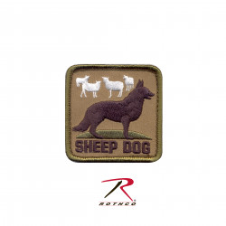 ШЕВРОН ПАТЧ на липучке Sheep Dog код ROTHCO 72206