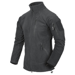 КУРТКА ALPHA TACTICAL - Grid Fleece - Shadow Grey, код HELIKON-TEX BL-ALT-FG-35