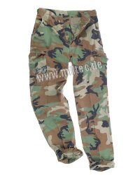 БРЮКИ ПОЛЕВЫЕ US washed, ripstop, woodland, код sturm 11801 / 11823020