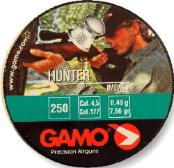 "Пуля пневм. ""Gamo Hunter"", кал. 4,5 мм. (250 шт.)"