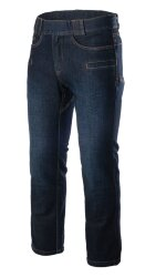 БРЮКИ GREYMAN Tactical Jeans Slim, Denim Mid, Dark Blue, код HELIKON-TEX SP-GJS-DD-31