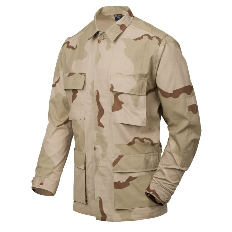 КУРТКА BDU - Cotton Ripstop - US Desert, код HELIKON-TEX BL-BDU-CR-05
