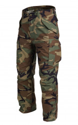 БРЮКИ M65 - Nyco Sateen - US Woodland, код HELIKON-TEX SP-M65-NY-03