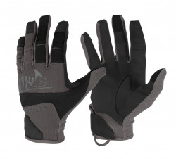 ПЕРЧАТКИ Range Tactical Gloves Hard, Black-Shadow Grey, код HELIKON-TEX  RK-RNG-PO-0135A