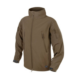 КУРТКА GUNFIGHTER SOFT SHELL WINDBLOCKER- Mud Brown, код HELIKON-TEX KU-GUN-FM-60