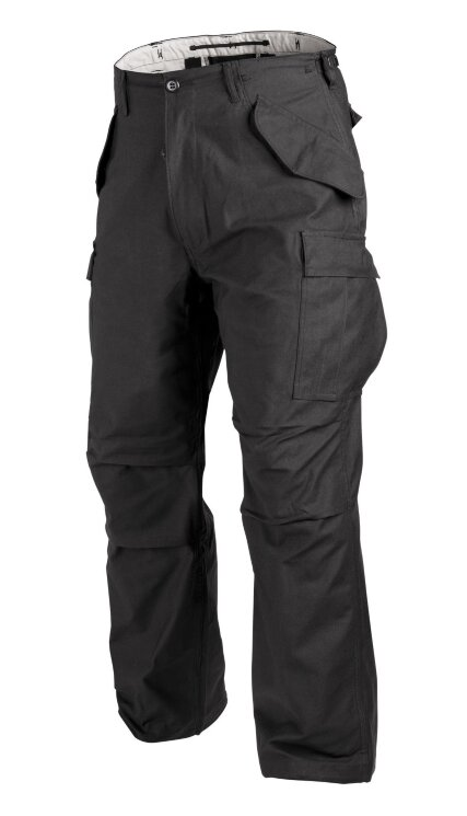 БРЮКИ M65 - Nyco Sateen - Black, код HELIKON-TEX SP-M65-NY-01