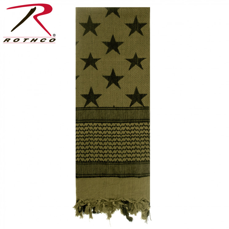 АРАФАТКА SHEMAGH TACTICAL SUBDUED US FLAG код ROTHCO 8864